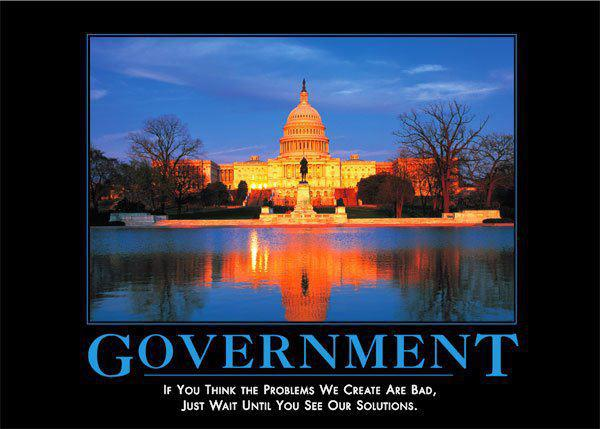 Belated thoughts on the Federal government...