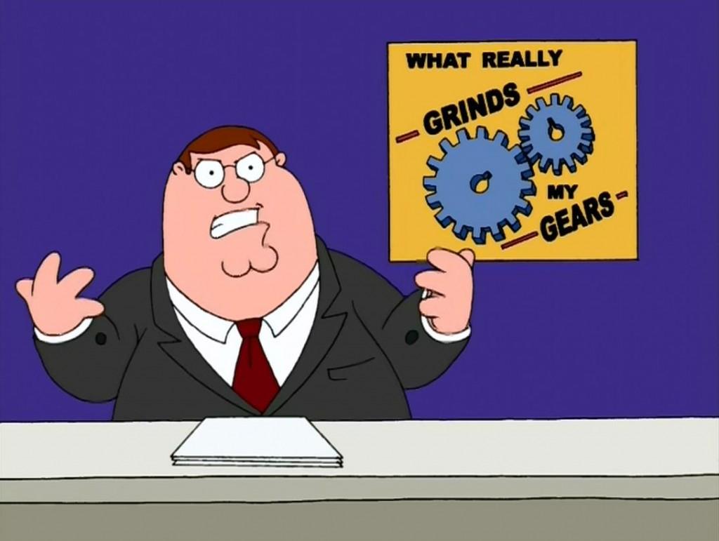 Grinding My Gears