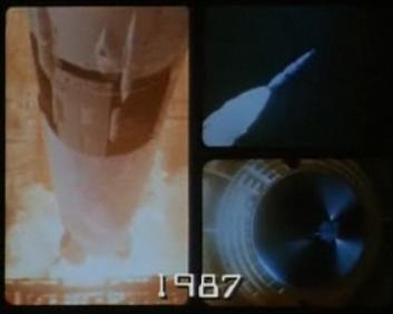 Opening sequence to Buck Rogers featuring NASA footage of Apollo missions.